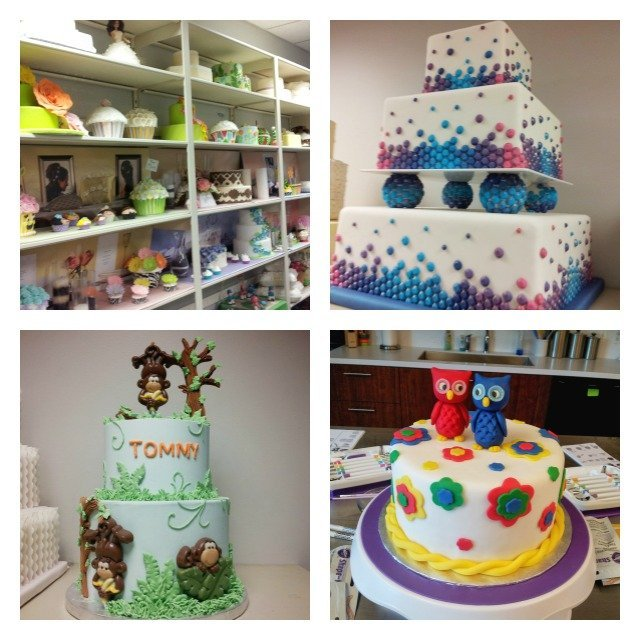 Examples of amazing cakes decorated at Wilton