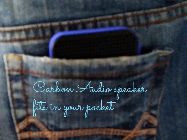 Carbon Audio pocket speakers in my pocket