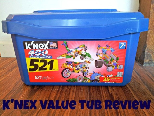 K'NEX value tub of building