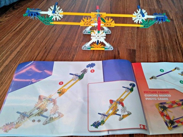 K'NEX see saw with directions