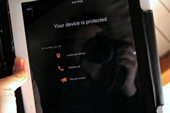 iPads can also be protected by Norton Mobile Security