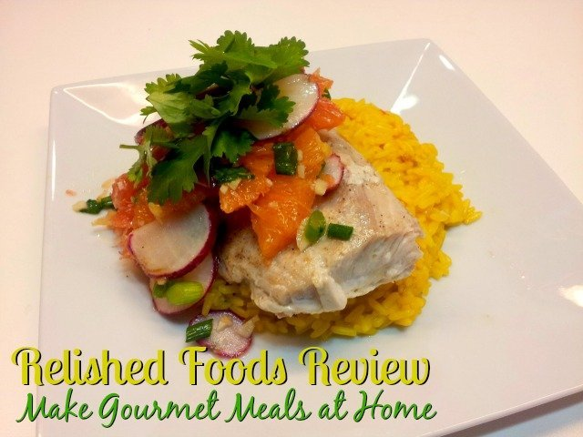Relished Foods Review - make gourmet meals at home for $9.95 per serving and a coupon code for 50% off your first order