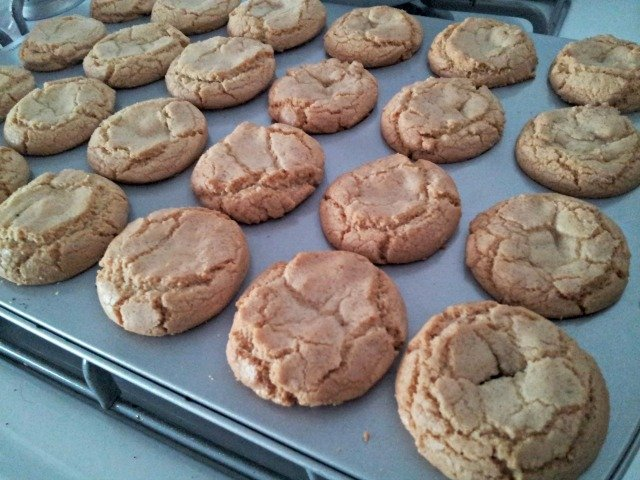 Perfectly baked treasure box cookies have cracked tops and are lightly browned