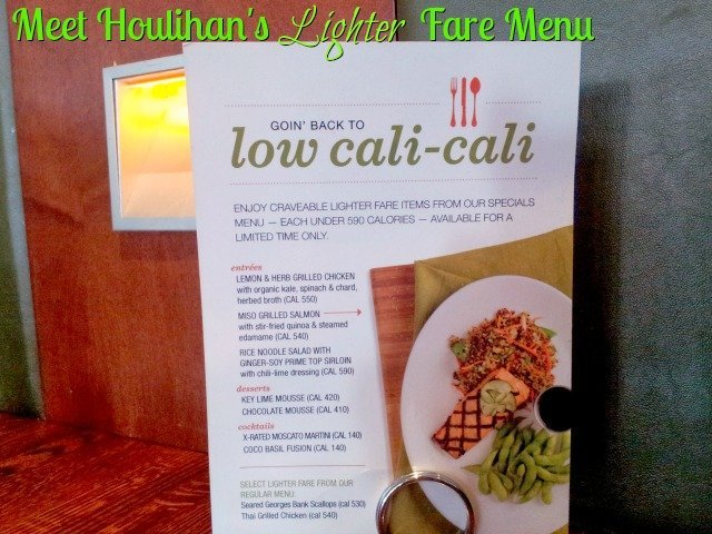 Houlihan's now offers a lighter fare menu with options under 590 calories each!