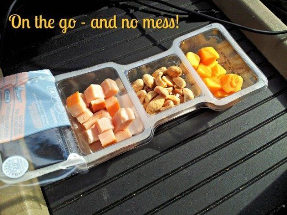 P3 Portable Protein Packs are perfect for the car with no mess