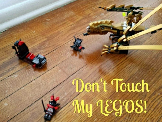 The danger of encouraging the creativity of LEGOS is that they quickly become sacred items no one can touch or move