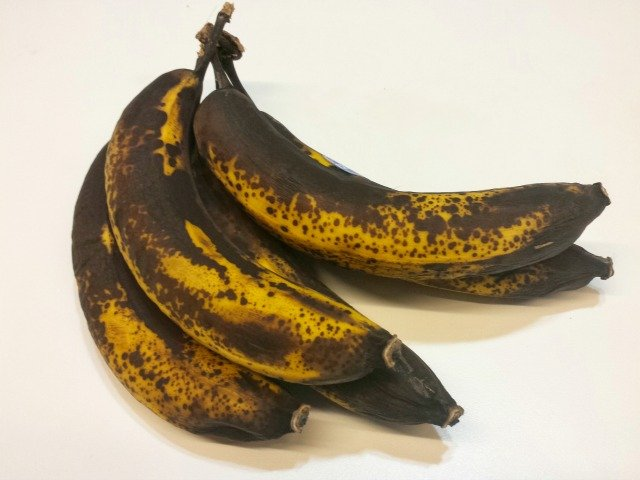 What to do with an overripe bunch of bananas