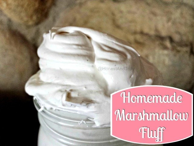 Super easy marshmallow fluff recipe that doesn't use corn syrup