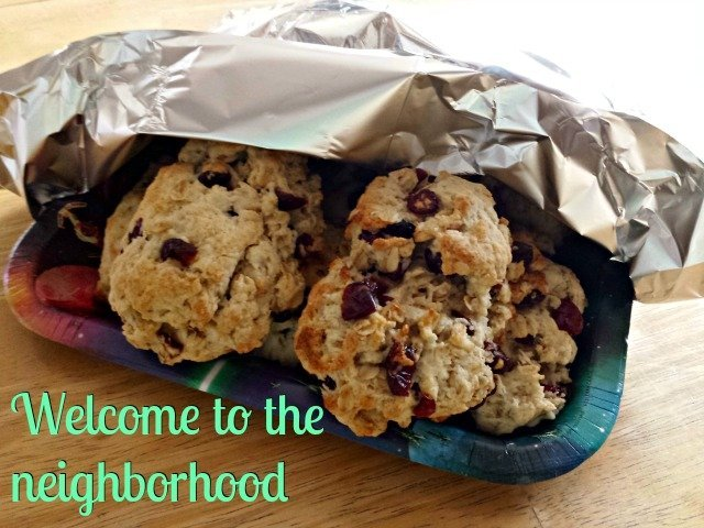 """A small welcome gift can make new neighbors feel so welcome, even if it's """"just"""" a packet of menus for local restaurants. How do you make new neighbors feel welcome?"""