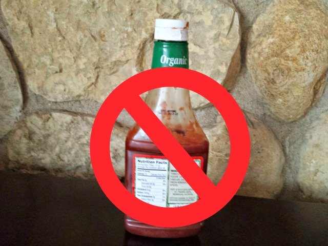Ketchup is not allowed on a traditional Chicago dog