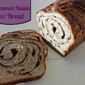 Homemade cinnamon raisin swirl bread recipe that doesn't require a bread machine, with dairy free options, too. Incredibly soft and better than store bought