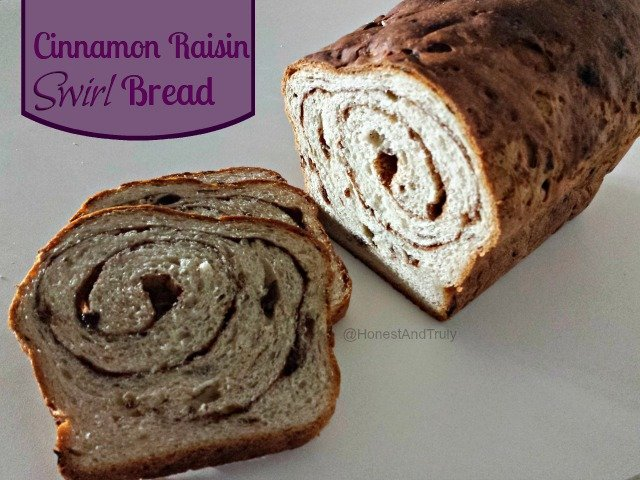 Homemade Cinnamon Raisin Bread - Honest And Truly!