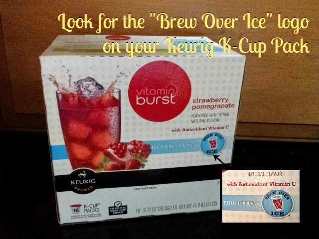 How to tell if you can brew over ice with Keurig K Cups
