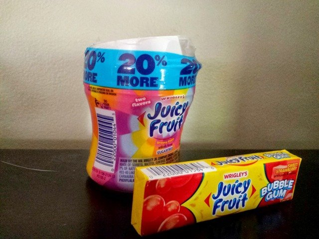 New Juicy Fruit Products: Fruity Chews and Bubble Gum