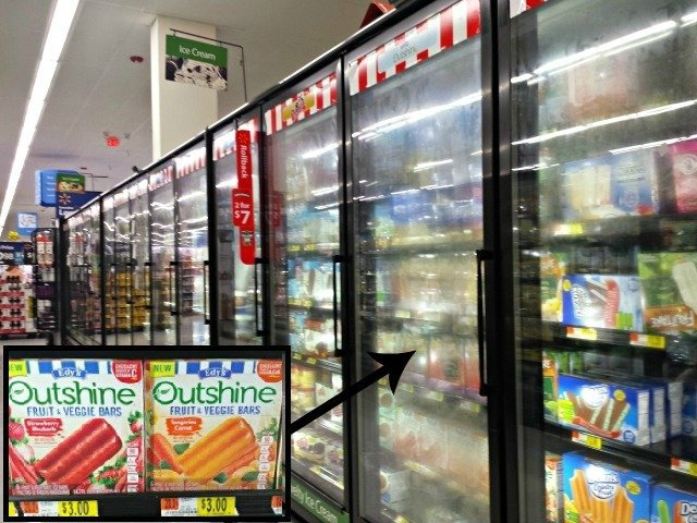 Outshine Fruit and Veggie Bars at Walmart