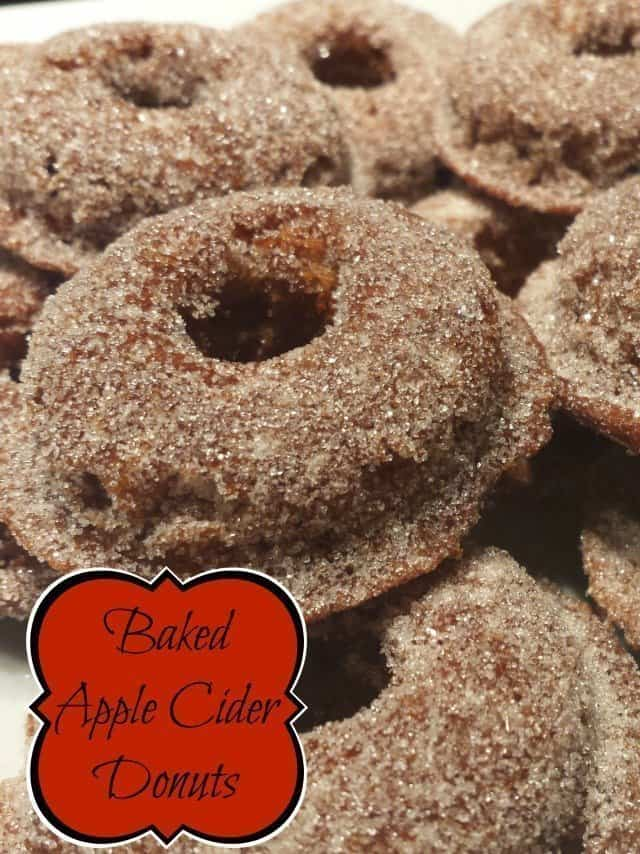 Easy and tasty apple cider donut recipe