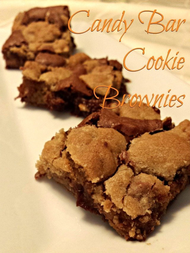 Candy Cookie Brownies