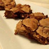 Candy bar cookie brownies