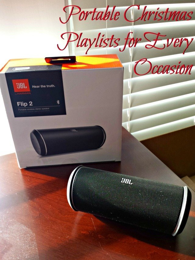 JBL Flip 2 Speaker with playlists