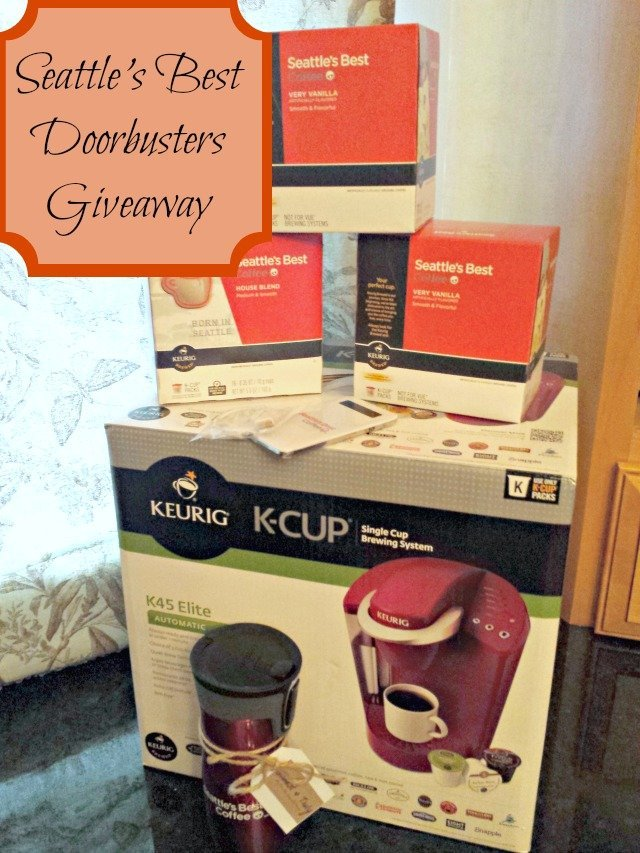 Seattle's Best Black Friday Power Up Kit Giveaway