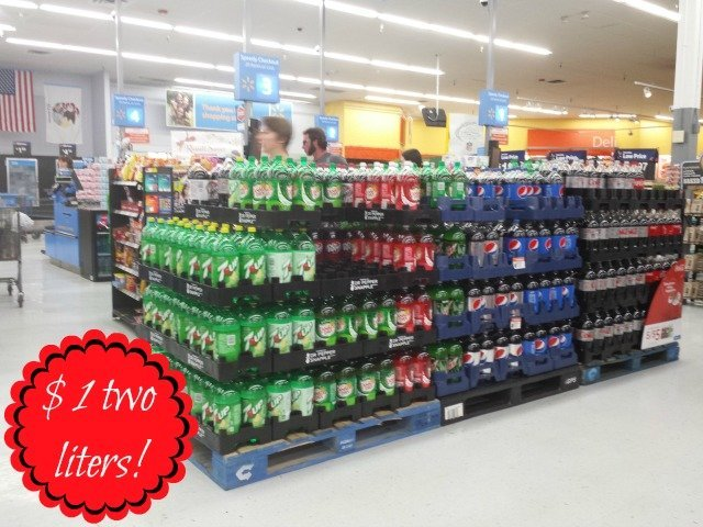 7UP® display at Walmart