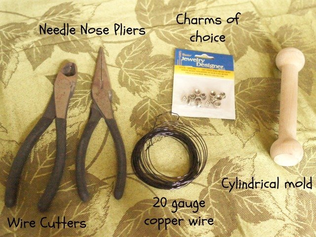 tools to make wine charms