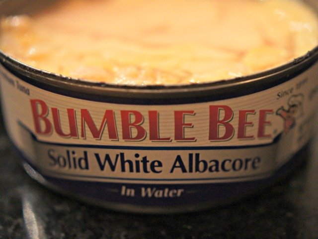 Can of bumblebee tuna