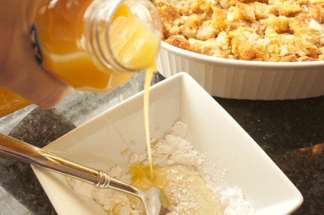 Mix orange glaze