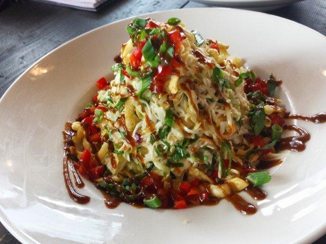 Asian salad at Granite City Food and Brewery
