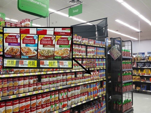 Campbell's easy cooking soups at Walmart