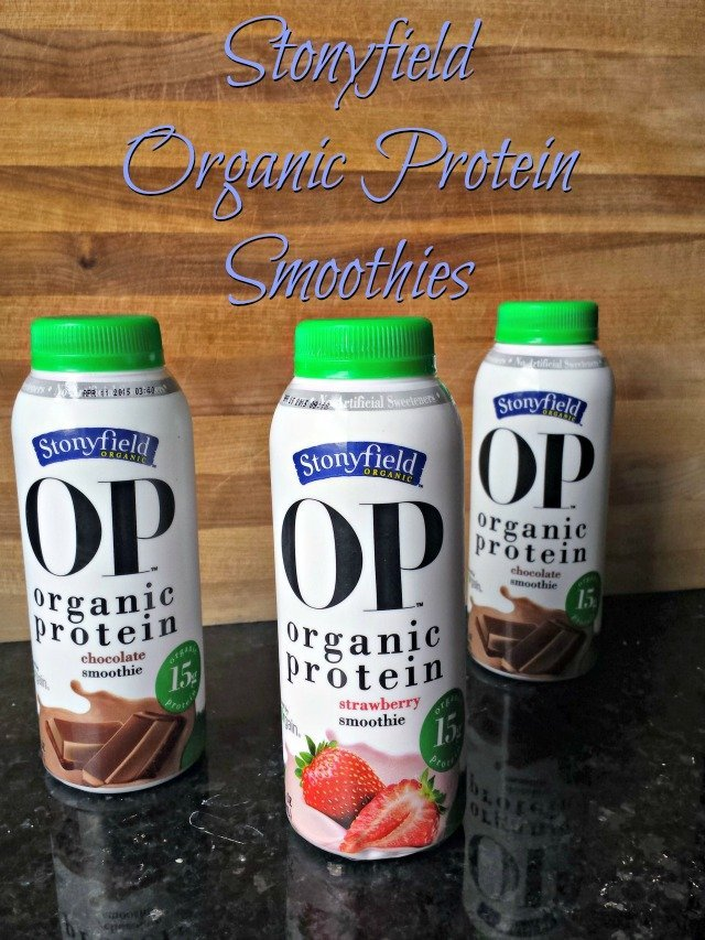 Stonyfield Organic Protein Smoothies