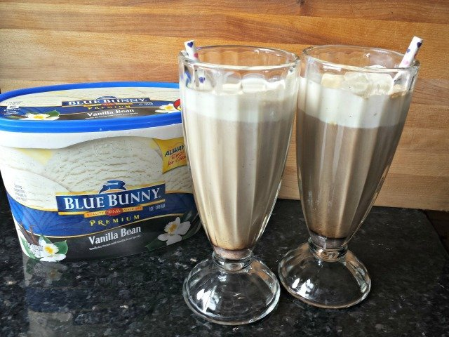 Iced Coffee Float and Homemade Spiced Creamer
