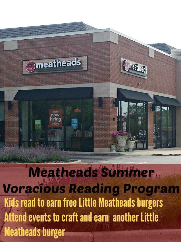 Meatheads Summer Voracious Reading Program