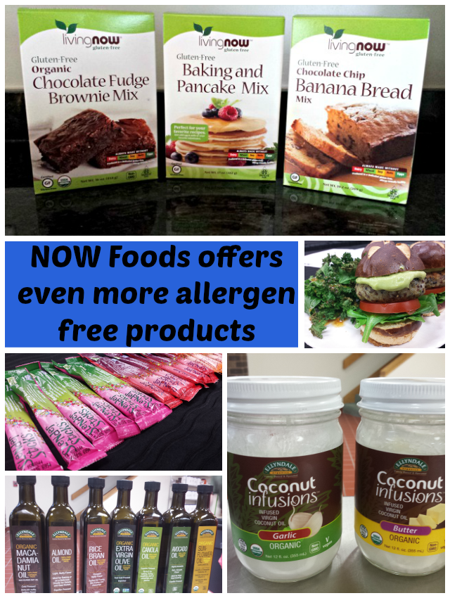 NOW Foods has a huge line of allergen free products for any need