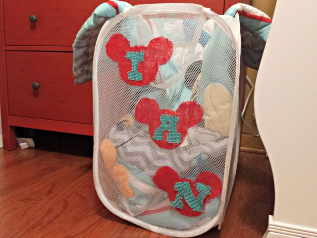 Personalized Disney gift n the baby room