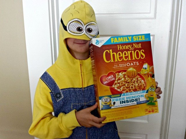 Thrilled with the 7th Minion in Honey Nut Cheerios from Walmart