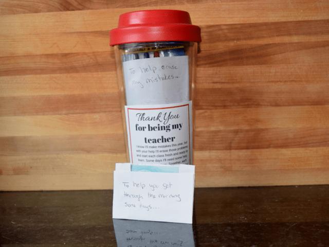 Teacher welcome gift