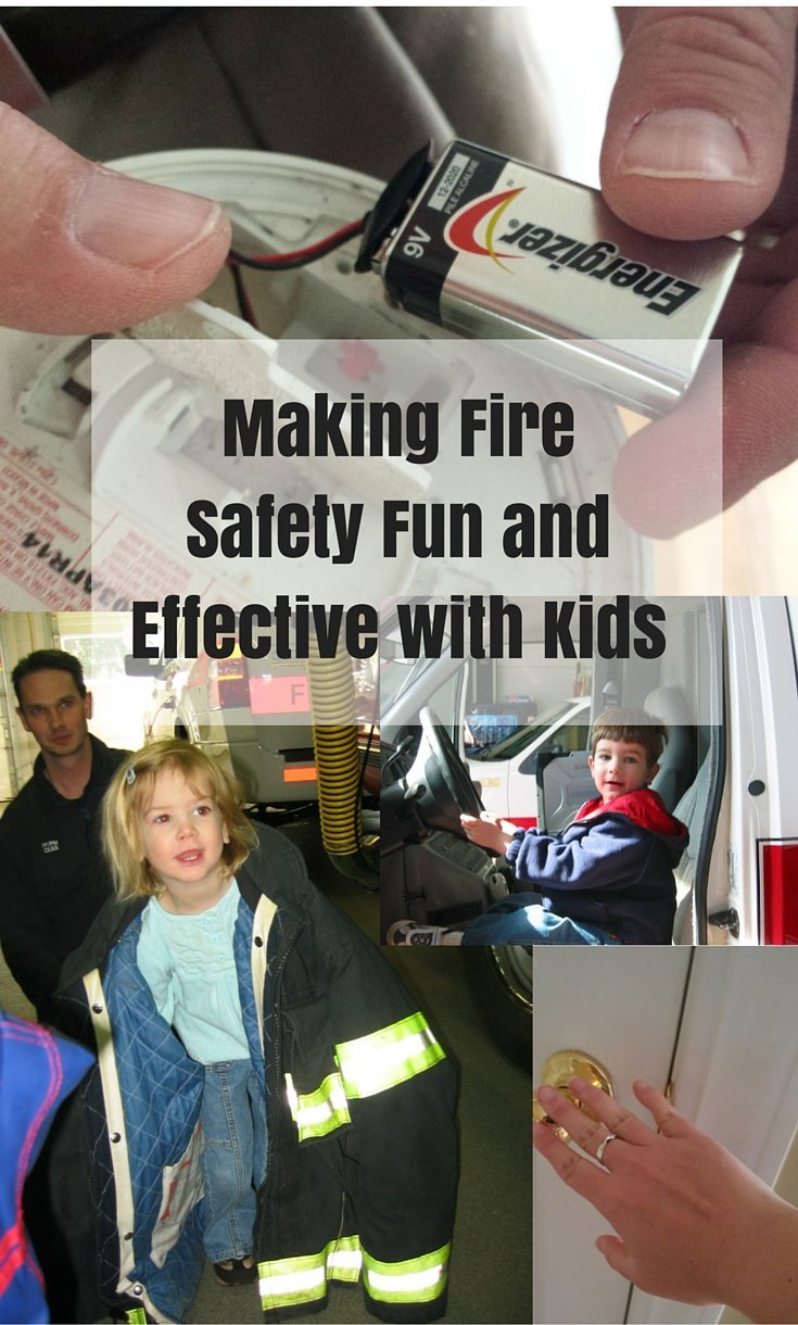 Teaching fire safety: How to teach fire safety to kids without scaring them. Tips and tricks that are effective