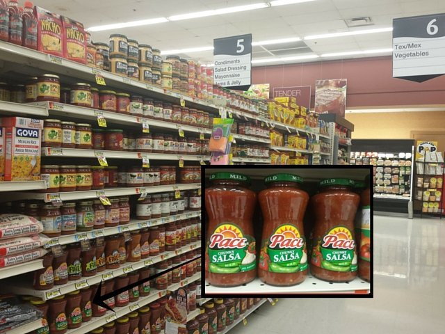 Pace Salsa at Jewel Osco