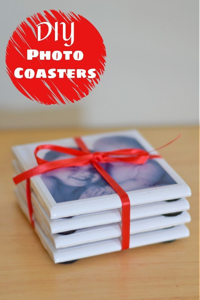 DIY Photo Coasters Tutorial