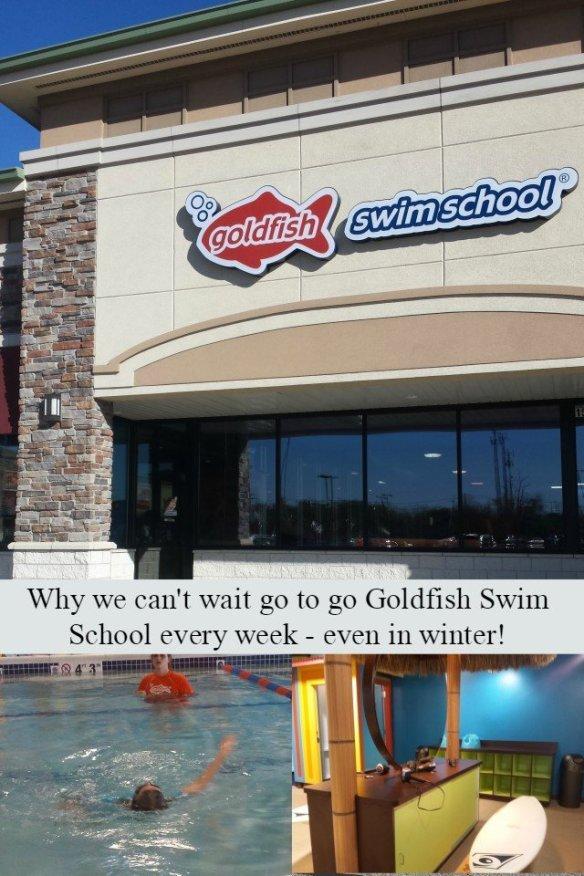 Goldish swim school lesson benefits