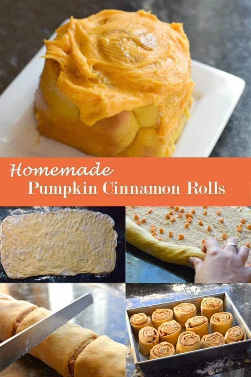 Homemade Pumpkin Cinnamon Rolls Recipe