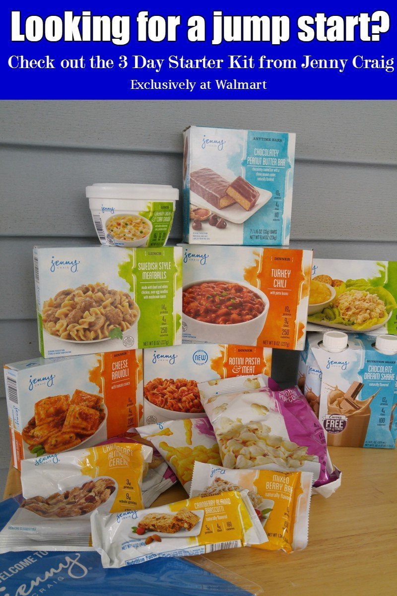 Jenny Craig 3 Day Weight Loss Starter Kit - a great way to kick start your weight loss and try out the Jenny Craig program