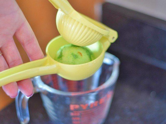 Use a juice squeezer