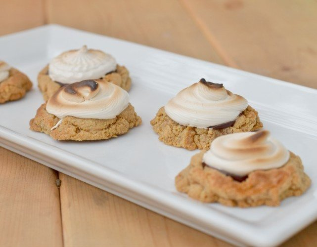Gobble up these s'mores cookies