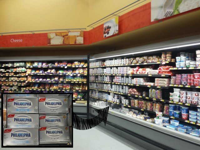 Kraft Philadelphia Cream Cheese at Walmart