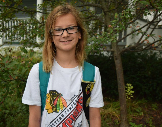 Little Miss First Day of 5th Grade