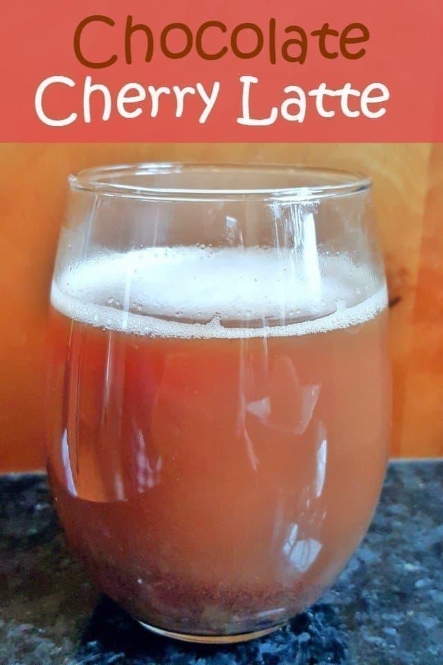 Chocolate Cherry Latte Recipe