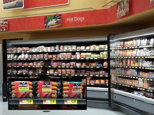 Jack Link's Wild Side Sausages at Walmart