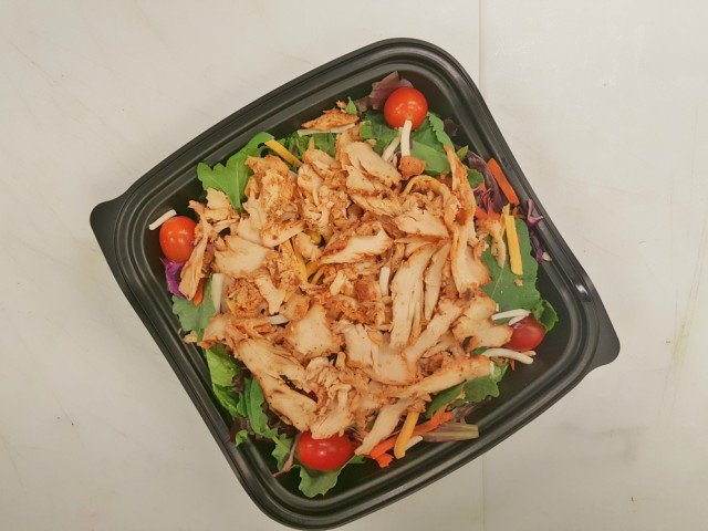 spicy chicken on the new Chick-fil-A southwest salad